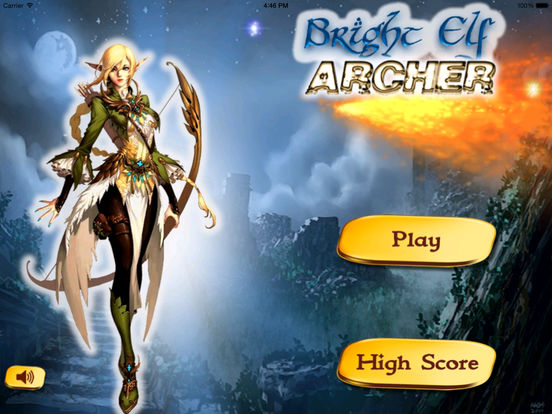 Bright Elf Archer Pro - A Glowing Magic Bow screenshot 6