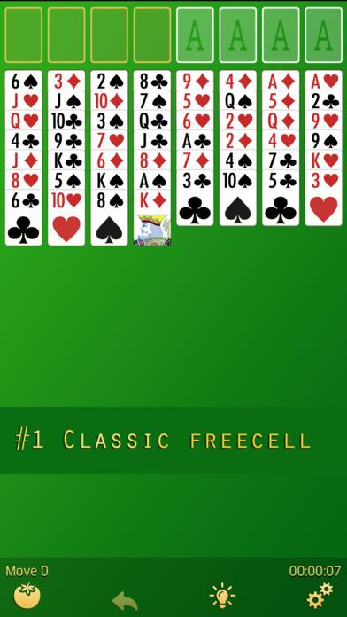 FreеCell screenshot 1
