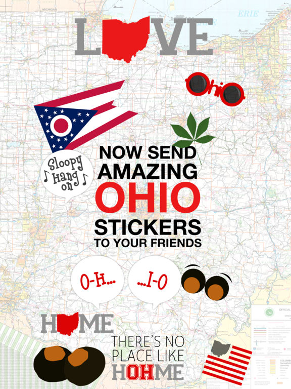 Love Ohio Stickers screenshot 2
