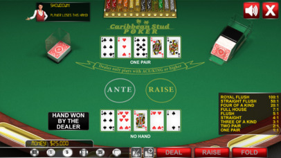 Caribbean Stud Poker ® screenshot 5