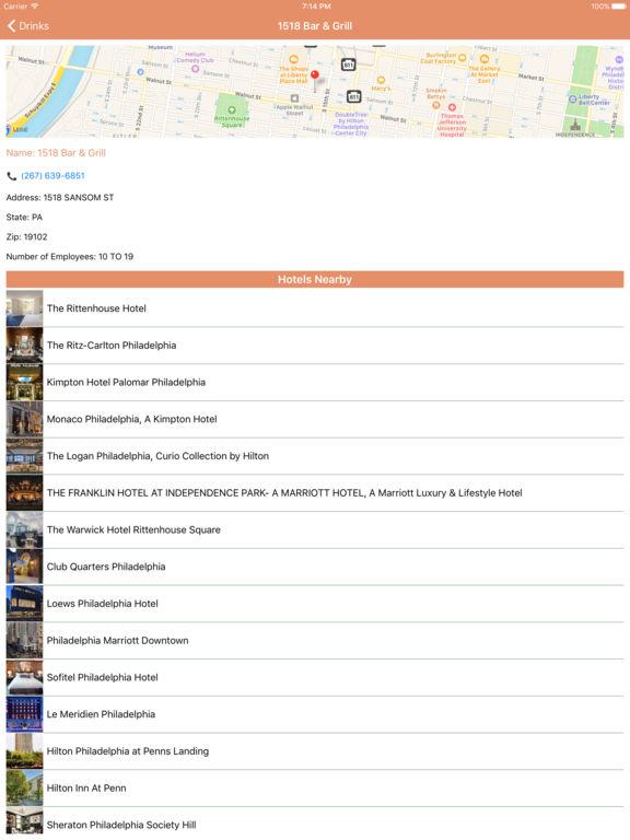 i4philadelphia - Philadelphia Hotels, Yellow Pages screenshot 9