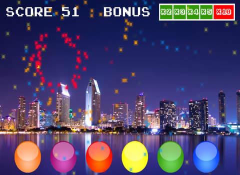 Fireworks Game - náhled