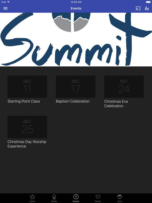 Summit Community Church - NC screenshot 6