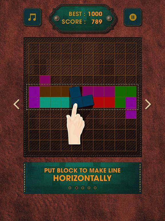 Vintage Block Puzzle Game screenshot 9