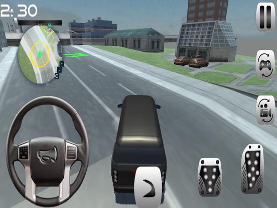 Prado car Simulation : drive 3D game screenshot 5
