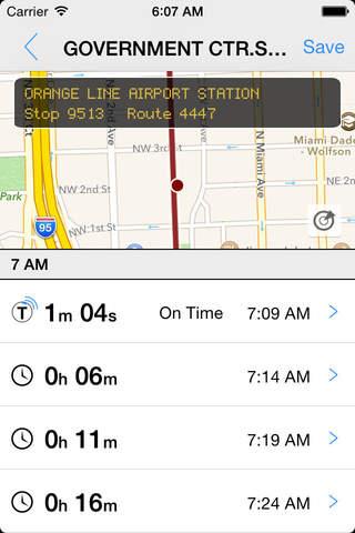 Transit Tracker - Miami Dade (MDT) - náhled