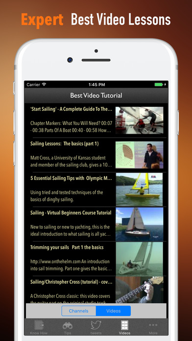 Sailing Beginners Guide-Glossary and News Update screenshot 3