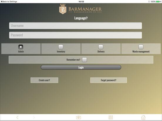 BarManager screenshot 5