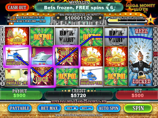 MEGA Money Vegas Slots screenshot 6