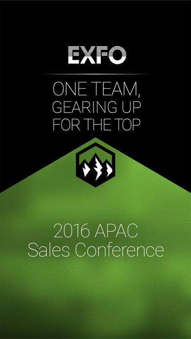 EXFO 2016 APACSales Conference screenshot 2