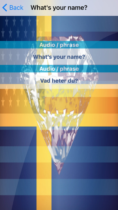 Swedish Phrases Diamond 4K Edition screenshot 3