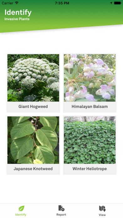 Report Invasive Plants screenshot 1