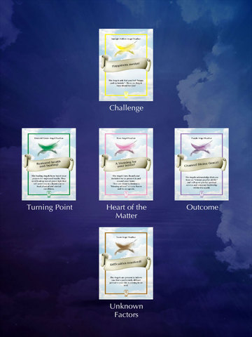 how many iphones are there feather oracle cards on the app 17031