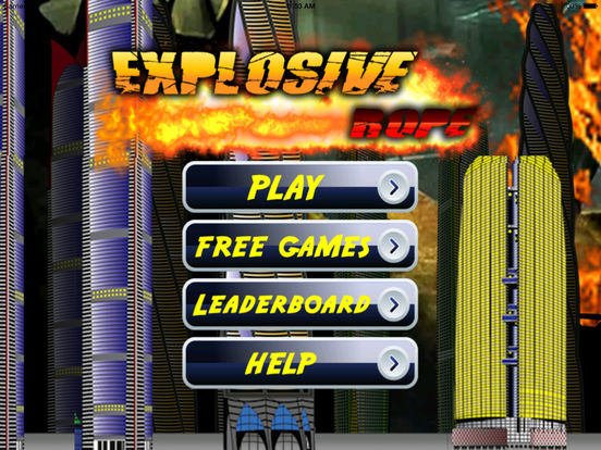Explosive Rope - Fly Escape And Amazing Heroes screenshot 6