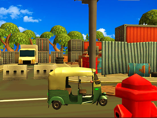 City Tuk Tuk Rickshaw : free simulation game screenshot 10