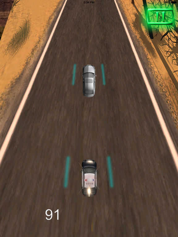 A Driving Fast Police Pro - Racing Hovercar Game screenshot 7