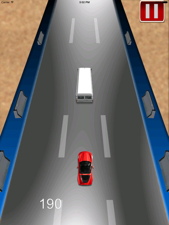 Adrenaline Vector Car Rush Pro - Adventure Race screenshot 7