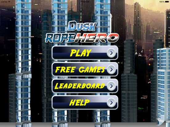 A Dusk Rope Hero - A City Flying screenshot 9