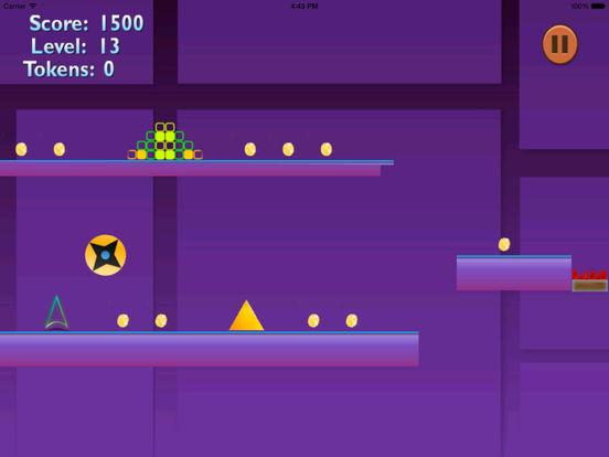 Bouncing Spikes Amazing PRO - Temple Geometry Jump screenshot 7