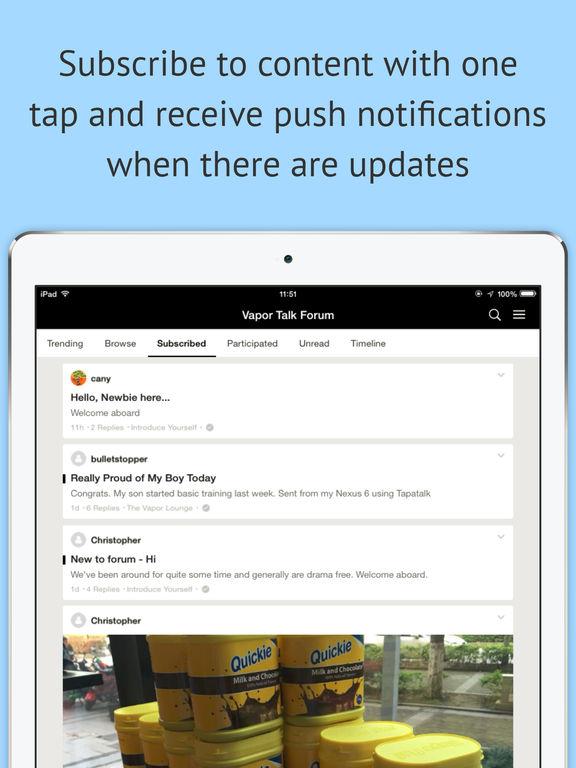 Vapor Talk® Forum screenshot 6