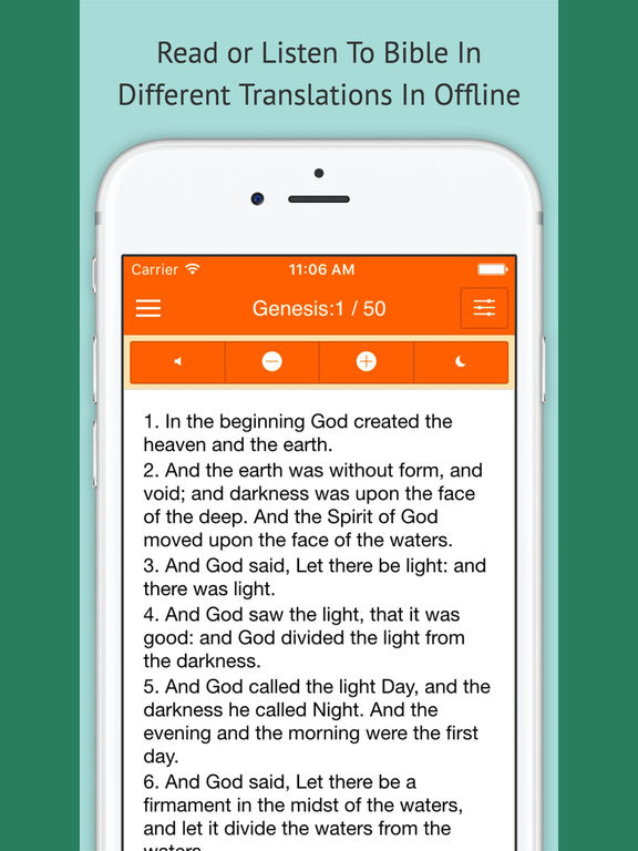 Bible Offline - Read Bible, Verses, Bible For Feelings And More screenshot 8