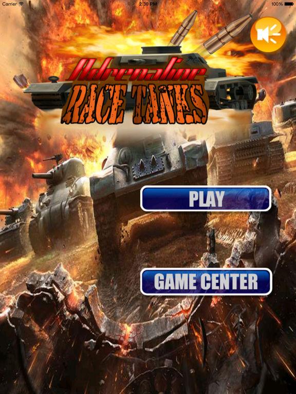 Adrenaline Race Tanks - Battle Tank Simulator 3D Game screenshot 6