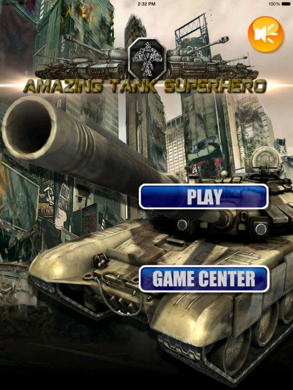 Amazing Tank Superhero - Race World of War Tanks Blitz screenshot 6