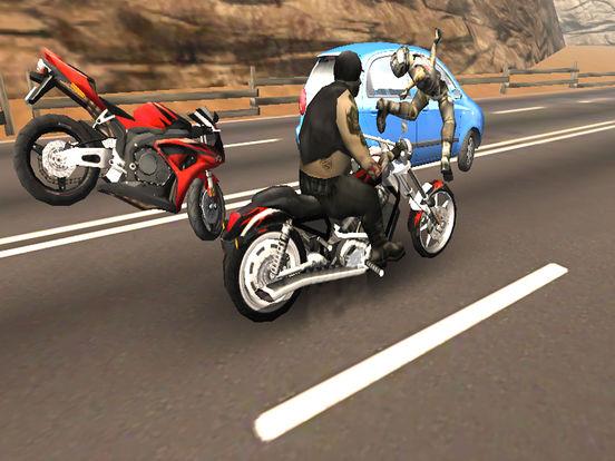 Highway Stunt Bike Riders : 3D Moto Sports Race-r screenshot 6