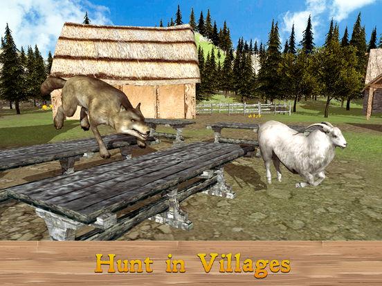 Evil Wild Wolf Simulator 3D Full screenshot 6