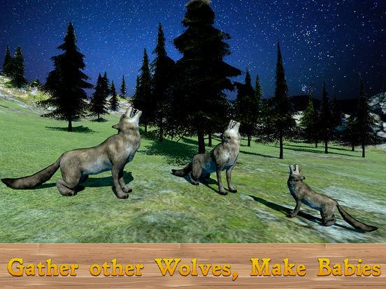 Evil Wild Wolf Simulator 3D Full screenshot 5