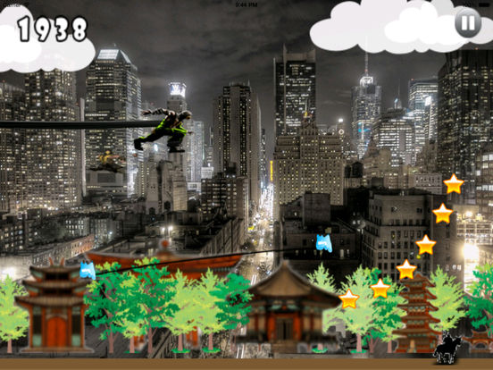 Shodow Ninja Jumper PRO screenshot 9
