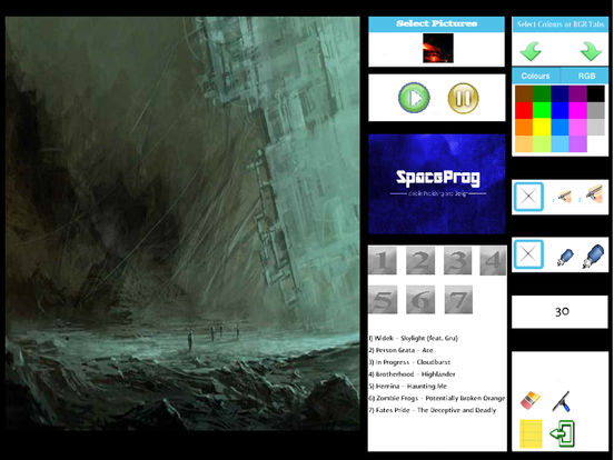 Oceanic Prog (Progressive Metal/Rock/Djent Album and Coloring) Side 1 screenshot 9