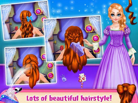 Princess Doll Hair Style screenshot 9