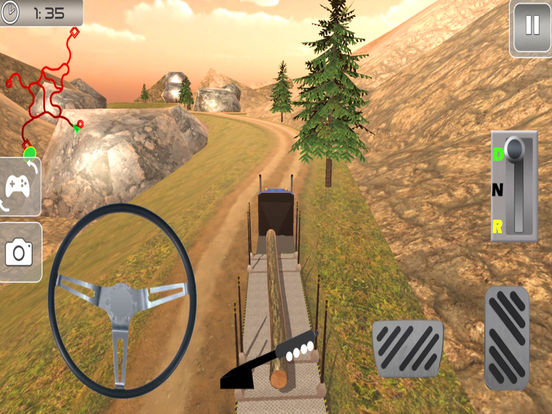 Off-Road Cargo Trailer : Heavy Vehicle Tran-sport screenshot 6