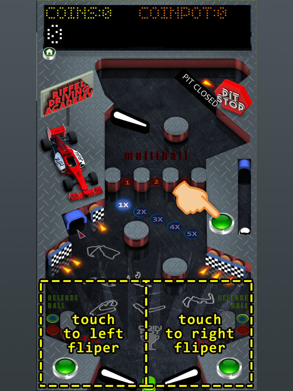 Pinball Racing Full screenshot 4