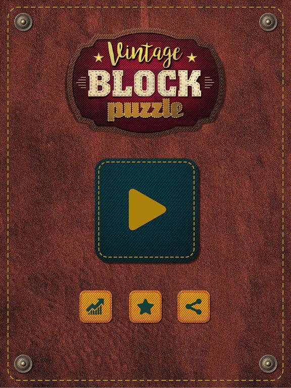 Vintage Block Puzzle Game screenshot 10