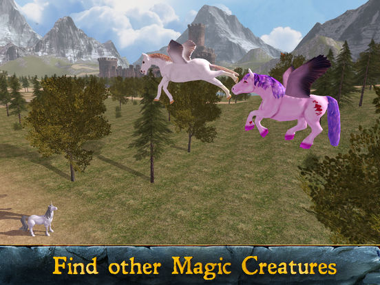 Flying Pony: Small Horse Simulator 3D Full screenshot 5