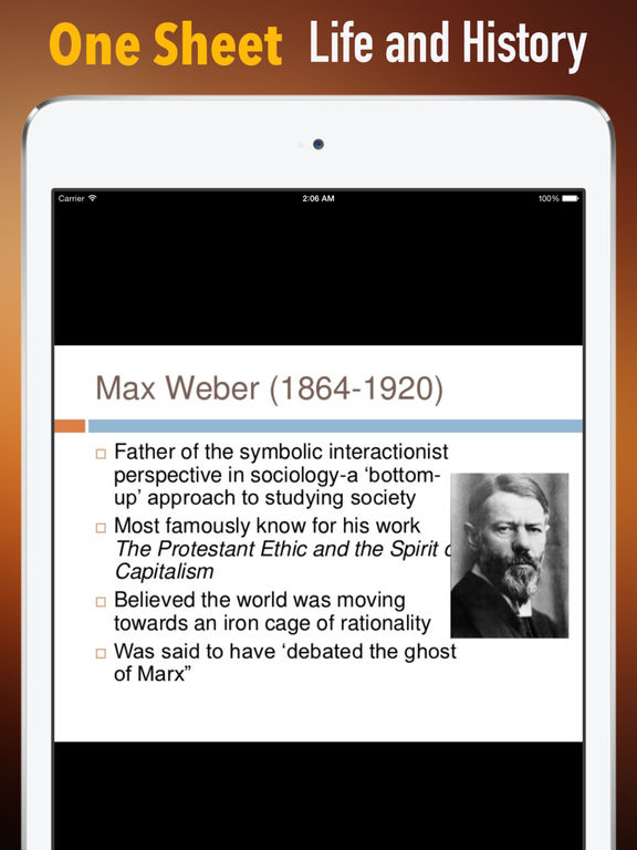 Biography and Quotes for Max Weber: Life with Documentary screenshot 7