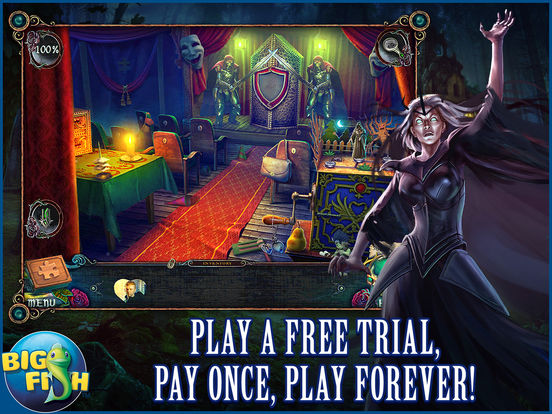 Witches' Legacy: Slumbering Darkness HD - A Hidden Object Mystery screenshot 1