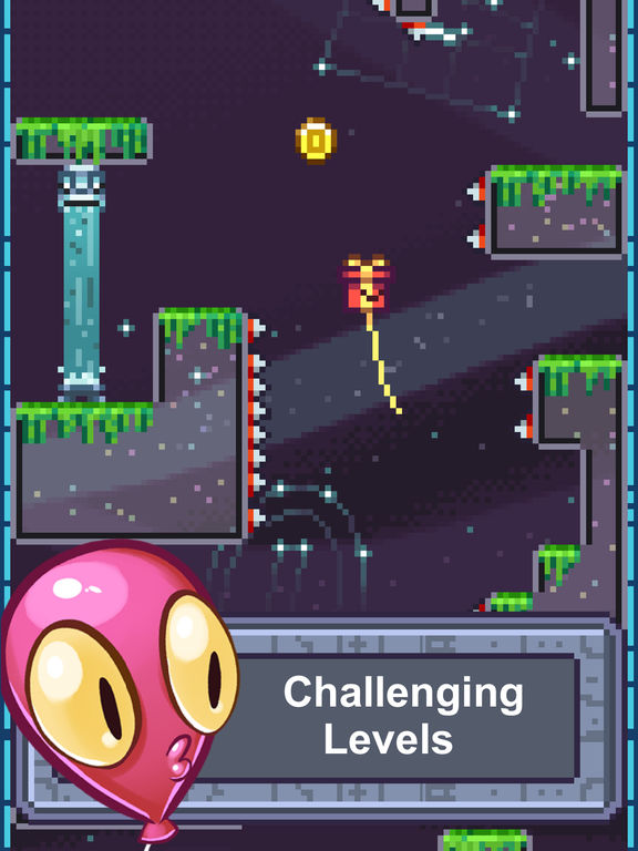 The Balloons: No Spikes Allowed Floaty Adventure screenshot #1