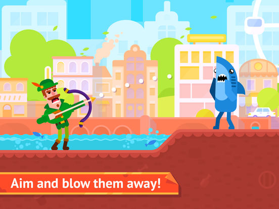 Bowmasters - Multiplayer Game screenshot 6