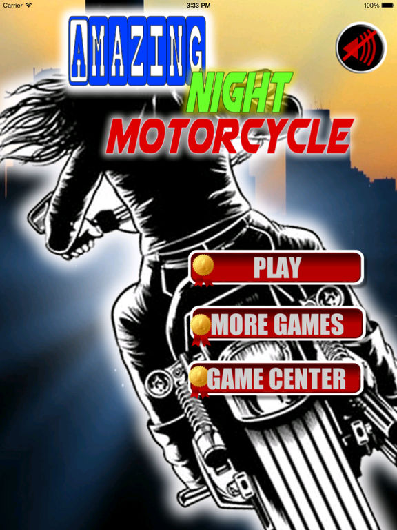 Amazing Night Motorcycle - Bike Game screenshot 6