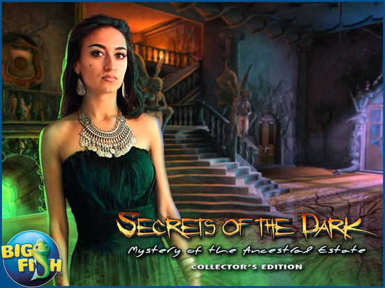 Secrets of the Dark: Mystery of the Ancestral Estate HD - A Mystery Hidden Object Game screenshot 5