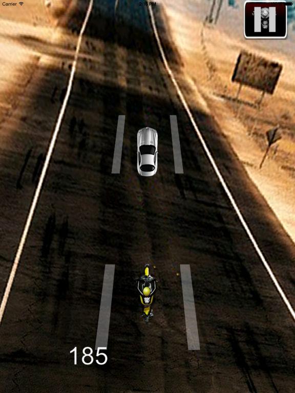 A Fury Motocross - Traffic Game Bike Racing screenshot 9
