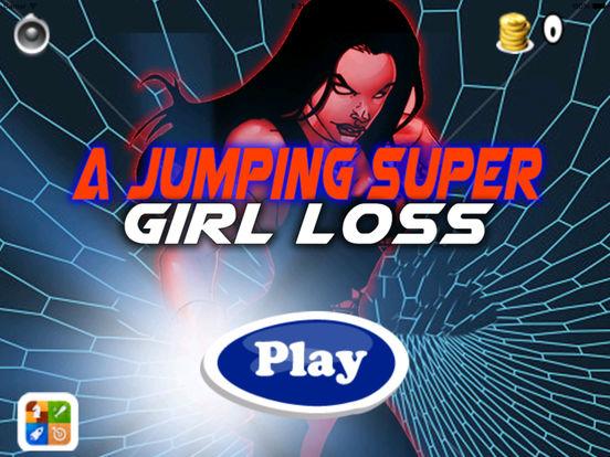 A Jumping Super Girl Loss PRO - Jumping Game screenshot 6