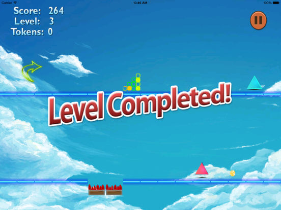 A Color Warned Jump PRO - A Danger Geometry Game screenshot 7