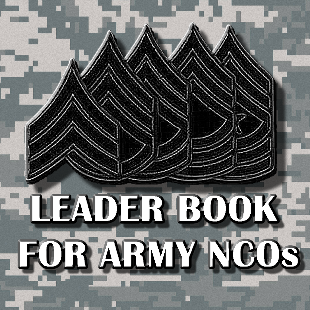 army leaders book template leader book for army ncos on the app on itunes 20503