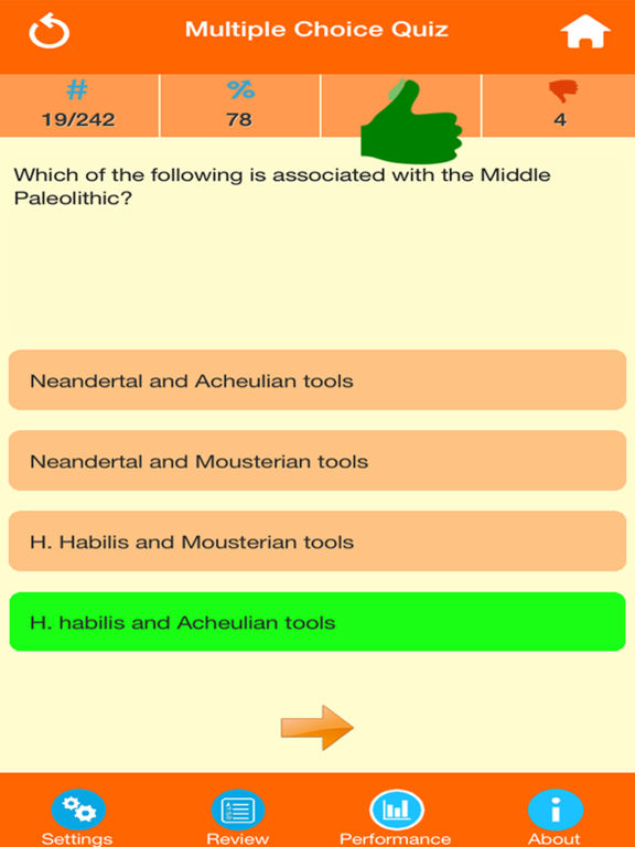 Anthropology Quiz screenshot 7