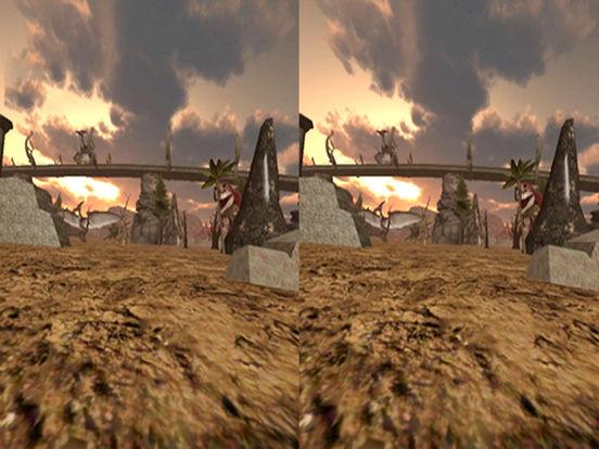 VR Jurassic Land Tour Cardboard Game screenshot 6