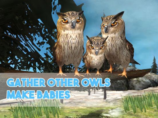Forest Owl Simulator - Be a wild bird! screenshot 5